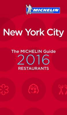 2016 Red Guide New York City - Michelin Red Guides and National Guides (Paperback)