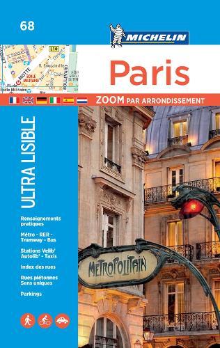 Paris par arrondissement - Michelin City Plan 68: City Plans - Michelin City Plans (Sheet map)