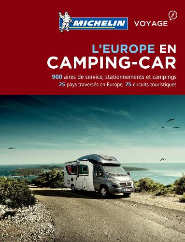 Camping Car Europe Michelin - Michelin Camping Guides (Paperback)