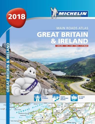 Great Britain & Ireland Atlas 2018 (Paperback)