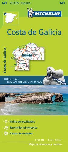 Costa de Galicia - Zoom Map 141: Map - Michelin Zoom Maps (Sheet map)