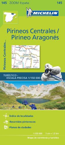 Pirineos Centrales - Zoom Map 145: Map - Michelin Zoom Maps (Sheet map)