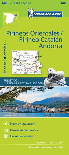 Pirineos Orientales - Zoom Map 146: Map - Michelin Zoom Maps (Sheet map)