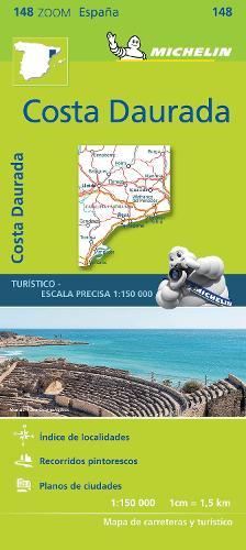 Costa Daurada - Zoom Map 148: Map - Michelin Zoom Maps (Sheet map)
