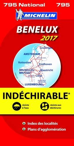 Benelux 2017 - High Resistance National Map 795 - Michelin National Maps (Sheet map, folded)