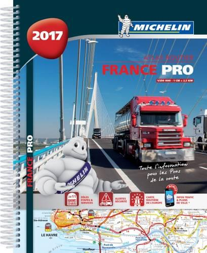 France Pro 2017 - Truckers - Michelin Tourist and Motoring Atlases (Spiral bound)