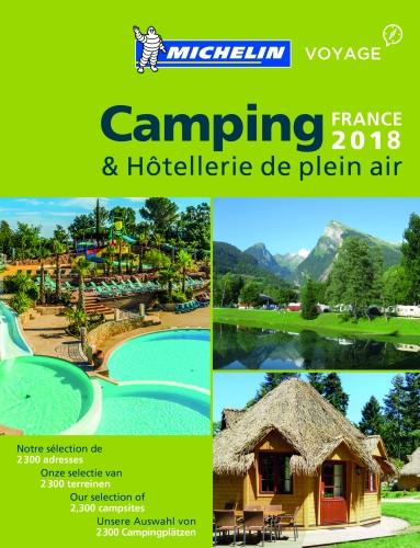Camping Guide France 2018 2018 - Michelin Camping Guides (Paperback)