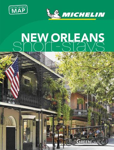 Michelin Green Guide Short Stays New Orleans - Green Guide Short Stays (Paperback)