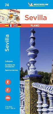Sevilla - Michelin City Plan 74: City Plans - Michelin City Plans (Sheet map)