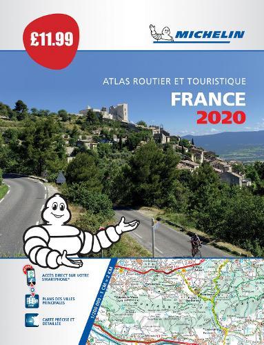 France 2020 - PB Tourist & Motoring Atlas: Tourist & Motoring Atlas A4 Paperback - Michelin Road Atlases (Paperback)