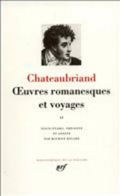 Oeuvres romanesques et voyages 2