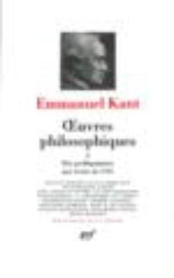 Oeuvres philosophiques 2
