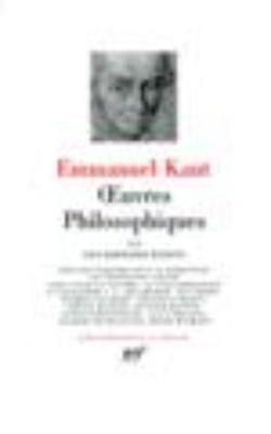 Oeuvres philosophiques 3