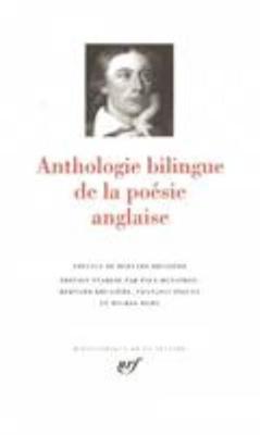 Anthologie bilingue de la poesie anglaise - leatherbound (Hardback)