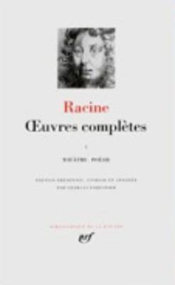 Oeuvres completes 1: theatre, poesie
