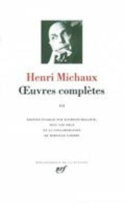 Oeuvres completes 3 (Hardback)