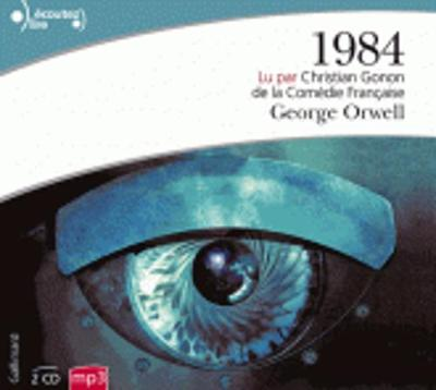 1984, lu par Christian Gonon (2 CD MP3)
