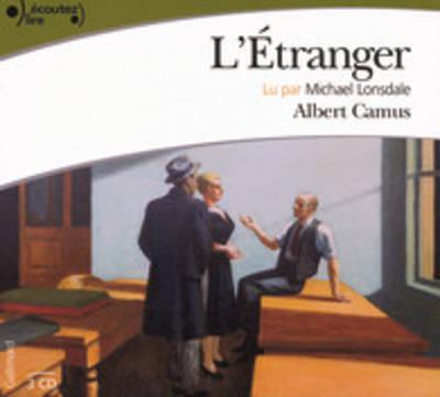 L'Etranger Lu Par Michel Lonsdale (1 CD MP3)
