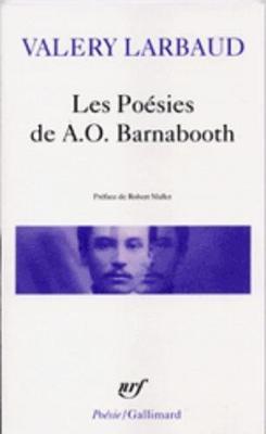 Les Poesies De A.O. Barnabooth Poesies Diverses (Paperback)