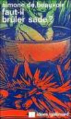 Faut-Il Bruler Sade? (Paperback)