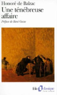 Une Tenebreuse Affaire - Folio (Paperback)