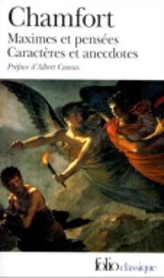 Maximes ET Pensees (Paperback)