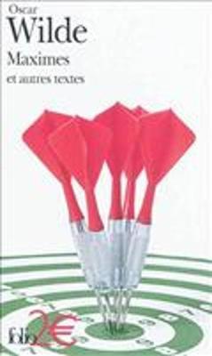 Maximes ET Autres Textes (Paperback)