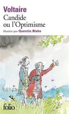 Candide ou L'optimisme, illustre par Quentin Blake (Paperback)