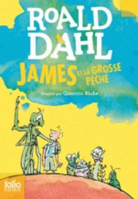 James et la grosse peche (Paperback)