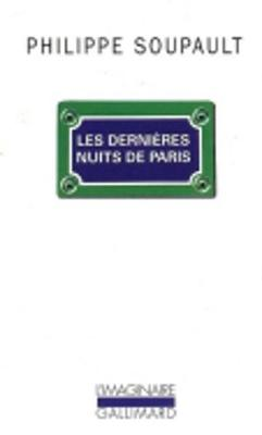 Les Dernieres Nuits De Paris (Paperback)