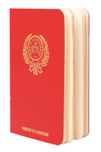 Parisian Chic Passport (red)