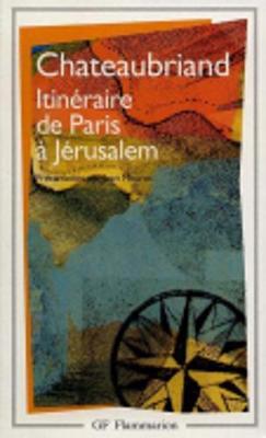 Itineraire De Paris a Jerusalem (Paperback)