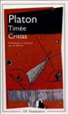 Timee ; Critias (Paperback)
