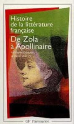 Histoire De La Litterature Francaise 8/De Zola a Apollinaire (Paperback)
