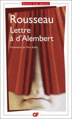 Lettre a D'alembert Sur Les Spectacles (Paperback)