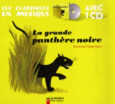 La grande panthere noire (Livre + CD)