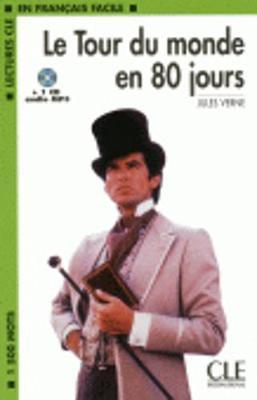 Le tour du monde en 80 jours - book + CD MP3