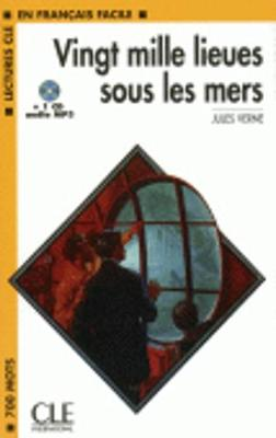 20 000 lieues sous les mers - book + CD MP3