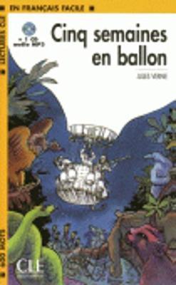 Cinq semaines en ballon - book + CD MP3