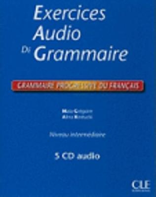 Grammaire progressive du francais: Exercices audio coffret 4 cd (Paperback)