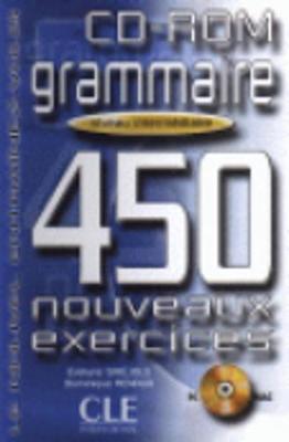 Le Nouvel Entrainez-vous: Grammaire - 450 nouveaux exercices - CD-Rom interm\e