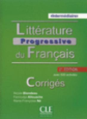 Litterature progressive du francais 2eme edition: Corriges intermedi (Paperback)