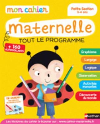 Mon cahier maternelle: Mon cahier maternelle Petite Section 3-4 ans (Paperback)