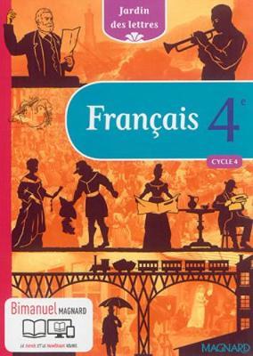 Jardin des lettres Bimanuel: Francais 4e (bimanuel) (Hardback)