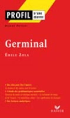 Profil d'une oeuvre: Germinal (Paperback)