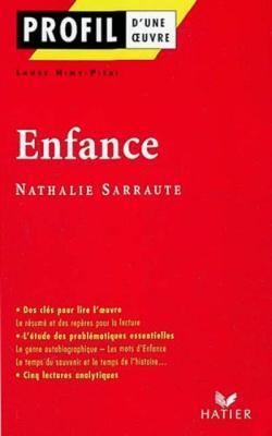 Profil d'une oeuvre: Enfance (Paperback)