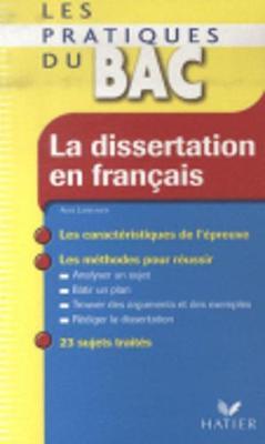 Profil formation: La dissertation