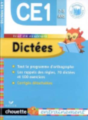 Collection Chouette - Francais: Dictees  CE2 8-9 ans (Paperback)