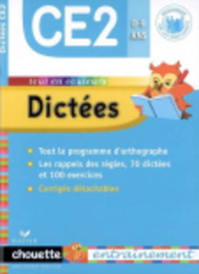 Dictees Ce2 8-9 Ans (Paperback)