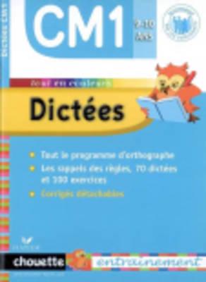 Dictees Cm1 9-10 Ans (Paperback)